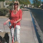 Dog walking with the right leash!