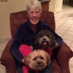joanne with Zeus & Chewy