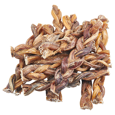 EcoKind Pet Treats - Braided Bully Sticks