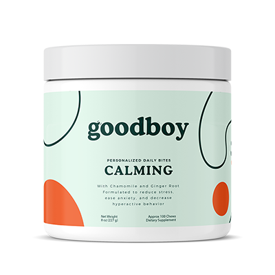 Calming Formula Goodboy Supplements Doolittle's Doghouse