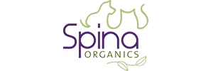 Spina Organics Logo - Doolittles Doghouse Shop